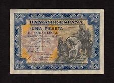 F.C. 1 PESETA JUNIO 1940 , SIN SERIE , EBC+ , MANCHITA EN LATERAL .