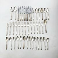 1847 Rogers Bros Eternally Yours Flatware Silverware Utensils 43 Pieces