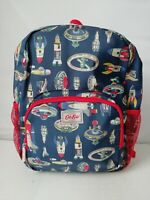 KIDS LARGE BACK PACK ROCKET UP IN SPACE  WITH MESH POCKET - CATH KIDSTON