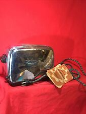 Vintage Retro CAMFIELD Chrome Model 24-1-2 Pop Up Toaster w/ Cloth Cord Works!
