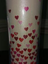 Starbucks 💕 Valentine's Day Pink Heart Balloon Travel Tumbler Coffee Cup Mug