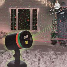 Projecteur Laser de Noël Intérieur Extérieur Inclus 2 supports de Fixation Neuf