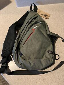 KAKA Green Sling Bag Crossbody Backpack Antitheft Waterproof Shoulder Bag - NWT
