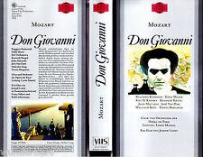 """VHS - """" Mozart - Don GIOVANNI """" (1978) - Ruggero Raimondi Opera Parigi )"""