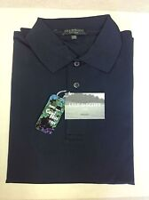 NWT Lyle & Scott (Scotland) MENS Navy Golf Shirt S/S Polo Cool Plus Fiber SZ L