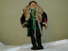 "Collectable Beautiful Medieval Dressed Doll From Colette-16"" High-Rare. Vg+"