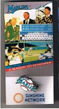 1994 Florida Marlins Stadium Giveway Pin First Year Anniversary