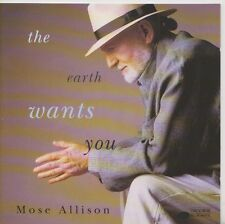 MOSE ALLISON    CD  THE EARTH WANTS YOU  BLUE NOTE