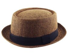 HEISENBERG - BREAKING BAD  / PORKPIE / CLASSIC TRILBY / TEXTURED HAT CAP