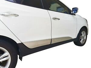 S/S Body Side Line Moulding Protector Cover Garnish For Hyundai ix35 09-15