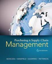 NEW - FAST to AUS - Purchasing and Supply Chain Management by Monczka (6 Ed)