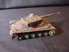 Old Vtg Collectible Dinky Toys Char A.M.X. Military Tank Toy Diecast