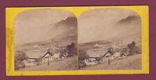 STEREO 140615 W ENGLAND The Alpine Club - Mont Blanc prise de Chamonix. Savoie.