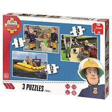 Fireman Sam Trio Puzzle 8710126173398