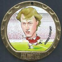 Promatch Medaillon 1997-PREMIER League Münze/Medal-Manchester United-Jordi