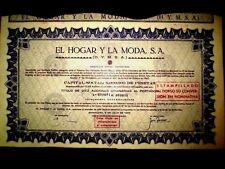 El Hogar y La Moda (HYMSA),Share certificate,Spain 1965