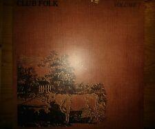 Dave Swarbrick Club Popular Lp 1972 ex/ex Vol 1 PS2 Peg
