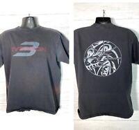 Vintage Reebok Y2K Allen Iverson Sun Faded T Shirt L Limited Edition Sewn Logo