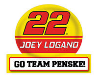 NASCAR #22 Joey Logano Jumbo Tailgate Decal-NASCAR Large Sticker-NEW for 2016