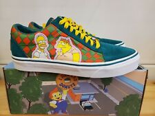 NEWN LIMITED EDITION VANS OLD SKOOL THE SIMPSONS MOE'S VN0A4BV521L SHOES FOR MEN