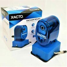 X Acto Bulldog Vacuum Pencil Sharpener Steel Cutter Blue 1 Count