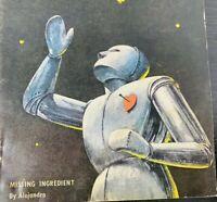 Astounding Science Fiction March,1949 ~ Iconic Robot Cover, L. Sprague De Camp