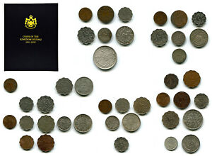 Iraq Virtually Complete Set (41) Coins 1931 1932 1933 1936-1955 in Special Album