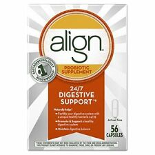 2x Align Probiotic Supplement - 56 Capsules Exp Date: 08/2018=16 week supply