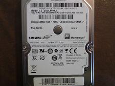 """Samsung ST500LM012 HN-M500MBB/A2 REV.A DGT Apple#655-1786C 2.5"""" 500gb Sata HDD"""