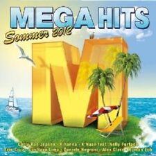 MEGAHITS SOMMER 2012 (2 CD) LOREEN RIHANNA AURA DIONE DEICHKIND++++ NEU