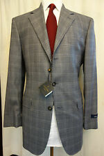NWT Brooks Brothers 1818 Madison Gray  Saxxon Wool Sport Coat 39L  Retail $648