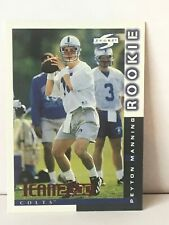 2000 Score Peyton Manning Team 2000 Card#TM17 Mint Condition