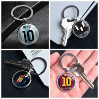 Lionel Messi Barcelona Football Gift Keychains Pendant Key Chain Keyring Ring