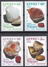 Ethiopia: 2003: Minerals: Opals, MNH
