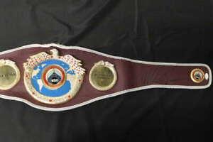 MIKE TYSON SIGNED WBO CHAMPIONSHIP BELT REPLICA BOXING JSA COA JB1411