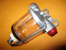 CLASSIC CAR (AC DELCO TYPE) GLASS BOWL HIGH FLOW FUEL FILTER
