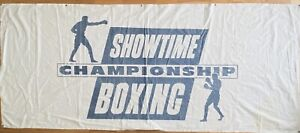 Extremely Rare / Extra Large - Showtime Championship Boxing Banner From Mid 90's
