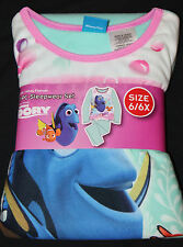 Girls Finding Dory 2 Pc Flannel Sleepwear Pajama Set Size 6/6X new with tags