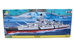 --- Cobi 4819 Battleship Bismarck Historical Collection WWII 2030 Teile NEU OVP