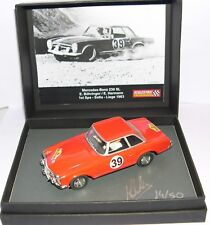 SCALEXTRIC PASSION SP026 MERCEDES-BENZ 230 SL 1º SPA-LIEGE 1963 E.BOHRINGER LTED