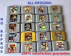 Mario 64 ,Mario Kart , Smash Bros ,Zelda Choose your Favorite GAME! ALL ORIGINAL