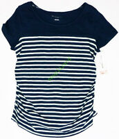 New Women's Maternity Crew Neck Tee T Shirt Top Liz Lange NWT size M Medium