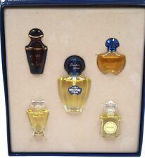 Vintage GUERLAIN Shalimar Samsara Mitsouko Champs Elysees MINI Perfume Set Rare