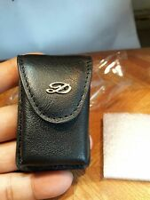 New St Dupont ligne 1 & ligne 2 large lighter leather pouch  (no lighter)
