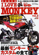[BOOK] I LOVE HONDA MONKEY vol.3 Yoshimura BAJA Gorilla 6V 12V Z50 Z50A Japan