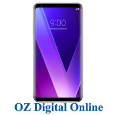 "New LG V30+ Plus Dual Sim H930 4G 16MP 128GB 6"" Violet Unlocked Phone 1 Year Wty"