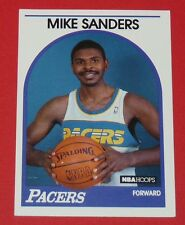 # 340 MIKE SANDERS INDIANA PACERS INDIANAPOLIS 1989 NBA HOOPS BASKETBALL CARD