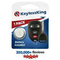 New Replacement Keyless Entry Remote Start Key Fob Clicker for 15913416 + Key