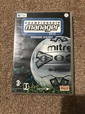 Championship manager 03/04 - rare football management sim - Mac - with manual