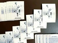 46) Shoeless JOE JACKSON Cleveland Indians 1981 TCMA Galasso B&W Card #154 LOT